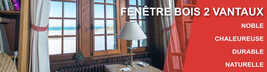 Fenetre BOIS 2 vantaux