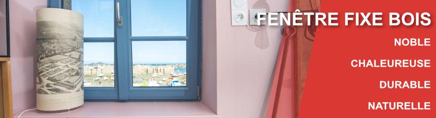 Fenêtre Fixe BOIS