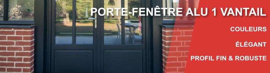 Porte Fenetre ALU 1 vantail