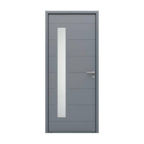 Porte d'entrée ALU modèle AL602