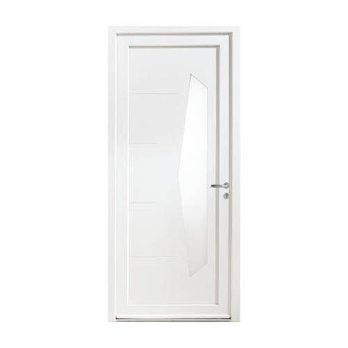 Porte d'entrée PVC modèle PV36 avec pose