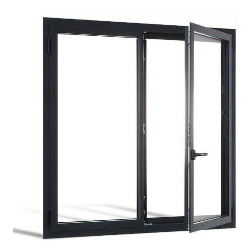 Fenêtre ALU ouvrant caché 2 vantaux ouverture à la française