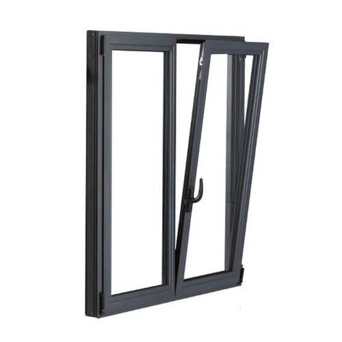 Fenêtre ALU ouvrant caché 2 vantaux ouverture oscillo-battante