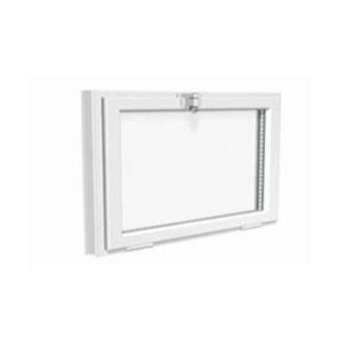 Fenêtre ALU ouvrant tradi 1 vantail Soufflet abattant