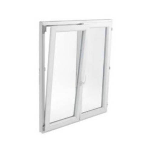 Fenêtre PVC 2 vantaux ouverture oscillo-battante avec pose
