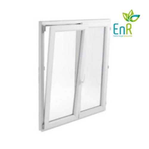 Fenêtre PVC EnR 2 vantaux ouverture oscillo-battante avec pose
