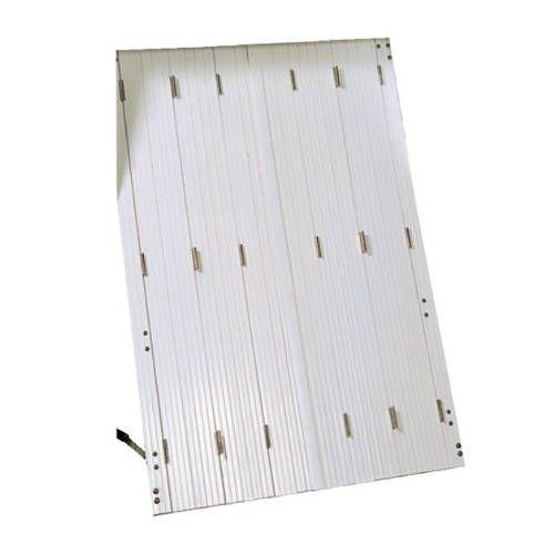 Persiennes PVC 4 vantaux repliables (2x2 vtx) avec pose