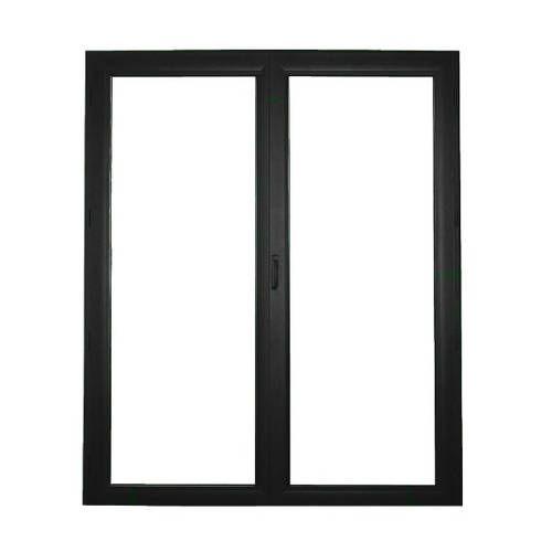 Porte fenêtre ALU ouvrant caché 2 vantaux ouverture à la française