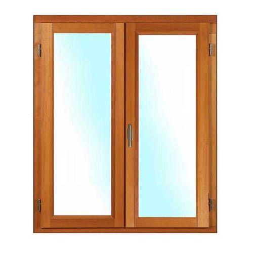 Porte fenêtre BOIS à Mouton et Gueule de Loup 2 vantaux ouverture à la française