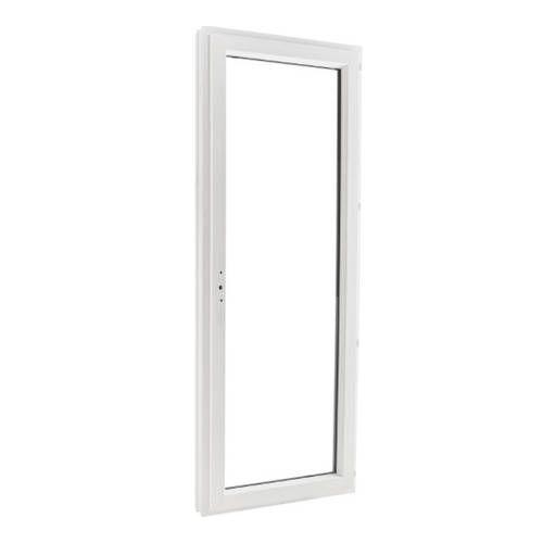 Porte fenêtre PVC EnR 1 vantail ouverture à la française