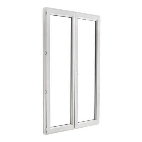 Porte fenêtre PVC EnR 2 vantaux ouverture à la française
