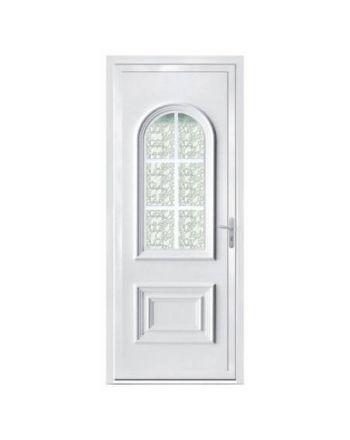 Porte d'entrée PVC modèle PV22