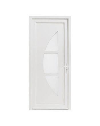Porte d'entrée PVC modèle PV30