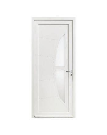 Porte d'entrée PVC modèle PV37