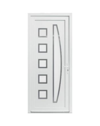Porte d'entrée PVC modèle PV38