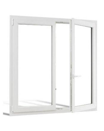 Fenêtre PVC 2 vantaux ouverture à la française