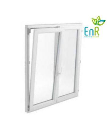 Fenêtre PVC EnR 2 vantaux ouverture oscillo-battante