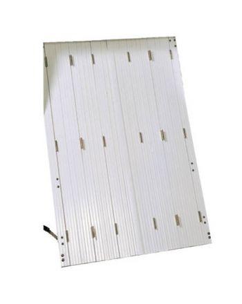 Persiennes PVC 8 vantaux repliables (2x4 vtx)