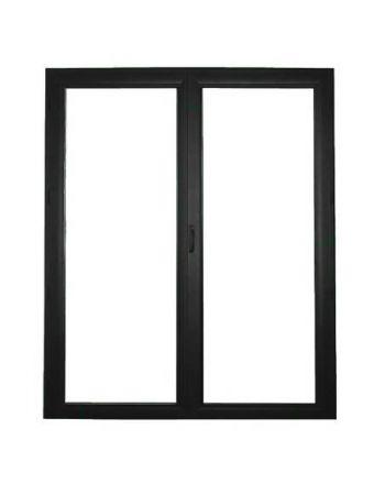 Porte fenêtre ALU ouvrant caché 3 vantaux ouverture à la française