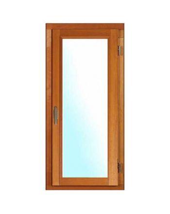 Porte fenêtre BOIS à Mouton et Gueule de Loup 1 vantail ouverture à la française