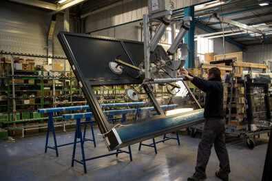 menuiseries fabriquées dans l'usine de Niort