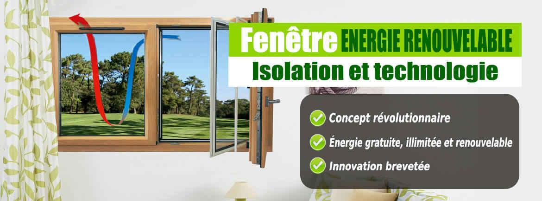 Fenetre Energie Renouvelable