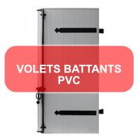 Volets battants PVC<