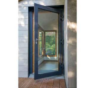 La porte-fenêtre mixte bois-alu