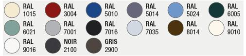 couleurs texturées