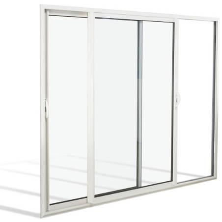 Fenêtre coulissante ALU 4 vantaux 2 rails