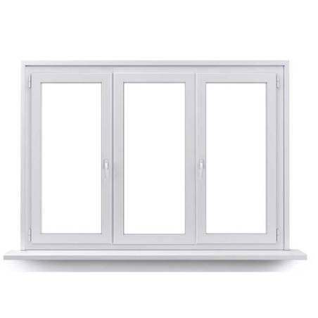 Fenêtre PVC 1 vantail ouverture à la française et 2 vantaux ouverture à la française