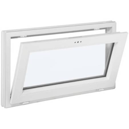 Fenêtre PVC 1 vantail Soufflet abattant