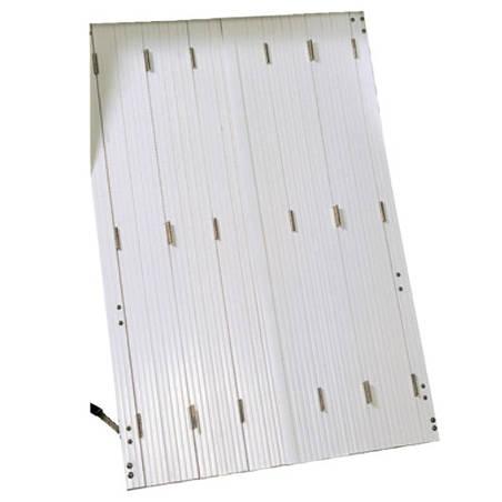 Persiennes PVC 10 vantaux repliables (2x5 vtx)
