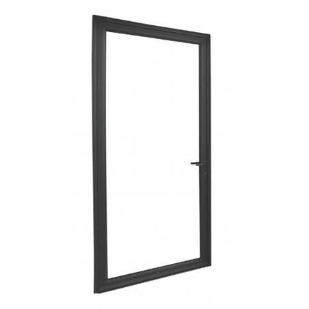 Porte fenêtre ALU ouvrant tradi 1 vantail ouverture à la française