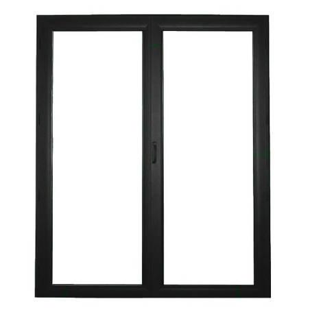 Porte fenêtre ALU ouvrant tradi 2 vantaux ouverture à la française